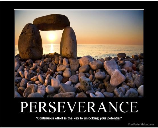Power of Perseverance (CC) by Russell Aaron