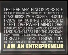 The entrepreneurial pledge